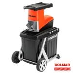 Biotrituradora eléctrica Dolmar FH2500 230 V 2500W 40 rpm máximo 45 mm
