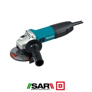 Miniamoladora Makita GA4530R 720W 115 mm Anti-restart