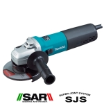 Miniamoladora Makita 9565CR 125 mm 1400 W 11.000 R.p.m.