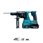 Martillo ligero Makita DHR243RTJ 24mm 18V Litio 5 Ah MakPac