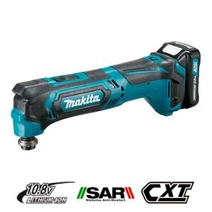 Multiherramienta Makita TM30DSAEX1 a batería 10,8V Litio 2Ah