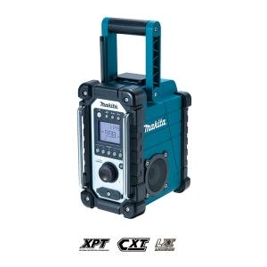 Radio de trabajo Makita DMR107 para baterías de 7.2 a 18V Litio-ion