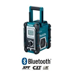 Radio de trabajo Makita DMR108 con Bluetooth baterías de 7.2 a 18V Li