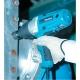 Llave de impacto Makita 400 W 350 Nm 1/2 pulgada TW0350 atornillando