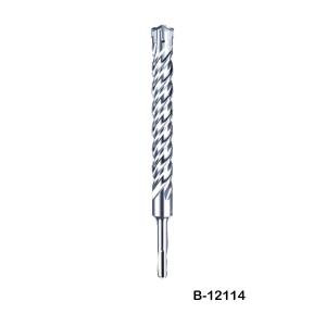 Broca Makita B-12114 SDS-PLUS Nemesis 24 mm reforzada, larga duración