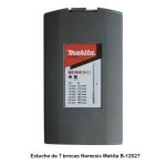 Estuche de 7 brocas Nemesis Makita B-12027 Diámetros 5-6-8-10-12 mm
