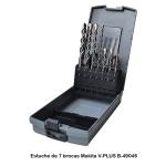 Estuche de 7 brocas V-PLUS Makita B-49046 Diámetros 5-6-8-10-12 mm