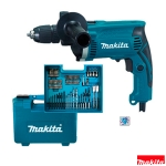 Taladro percutor Makita HP1631KX3 710W 13 mm con maletín 74 accesorios