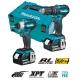 Kit Makita DLX2221TJ Atornillador DTD155Z + Taladro DHP483Z + MakPac