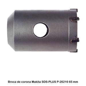Broca de corona M16 SDS-PLUS Makita P-26216 65 mm x 60 mm
