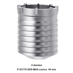 Broca de corona SDS-MAX Makita P-03779 40 mm