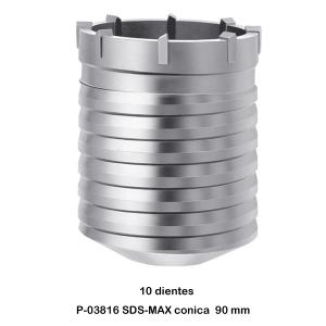 Broca de corona SDS-MAX Makita P-03816 90 mm