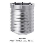 Broca de corona SDS-MAX Makita P-16374 125 mm