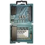 Maletín de accesorios 34pcs Makita D-36980