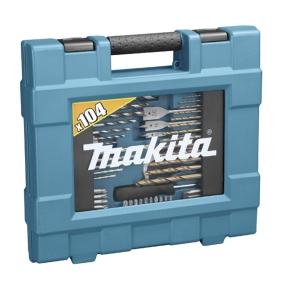 Maletín de accesorios 104pcs Makita D-31778