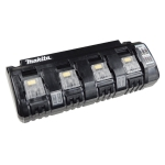 Multicargador 4 puertos Li-ion DC18SF 14.4-18V 230V AC Makita 196426-3