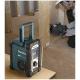 Radio Makita DMR110 a batería 7,2V - 18V DAB en obra