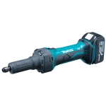 Amoladora recta Makita a batería 18V Litio DGD800RFE 6 mm