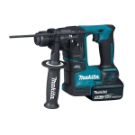 Martillo ligero 17mm Makita DHR171RTJ a batería 18V Litio-ion 5.0Ah