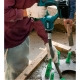 Vibrador de hormigón Makita a batería 18V 3.0Ah Litio BVR450RFE vibrando