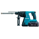 Martillo ligero Makita a batería 36V 2.2Ah Litio modelo HR262DWBE 26 mm