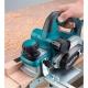Cepillo eléctrico Makita 82 mm 1.050 W 12.000 rpm modelo KP0810C cepillando