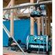 Compresor de alta presión Makita AC310H 28 bares trabajando en obra