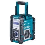 Radio digital Makita DMR112 para baterías de 7.2-18V y toma corriente