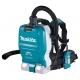 Aspirador de mochila Makita DVC265ZXU motor BL a batería 18Vx2 LXT AWS