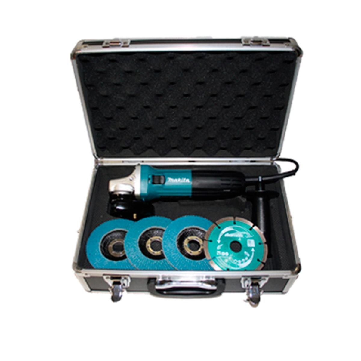 boutique de salida cupón de descuento especial para zapato Amoladora Makita de 115 mm 720 W modelo GA4530X5 con accesorios -