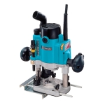 Fresadora Makita RP1110C 1100W pinza de 6-8 mm y velocidad variable
