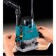 Fresadora Makita RP1110C 1100W pinza de 6-8 mm y velocidad ajustable fresando en tablero