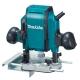 Fresadora Makita modelo RP0900 900 W con pinza de 6 y 8 mm 27.000 rpm