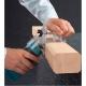 Fresadora de cantos Makita 3710 530 W base inclinable fresando