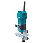 Fresadora de cantos Makita modelo 3709 con pinza de 6 mm y 30.000 rpm