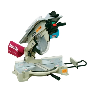 Ingletadora Makita LH1040F con sierra de mesa, 1650 W disco de 260 mm