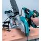 Ingletadora telescópica Makita LS1018L, 1430 W cortando tablon