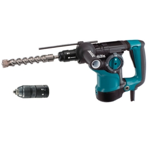 Martillo Makita HR2811FT 800 W inserción SDS-PLUS con portabrocas