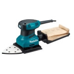 Lijadora orbital Makita BO4565K 200 W 28000 vpm con base triangular
