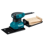 Lijadora orbital Makita BO4566 200 W 28000 vpm con base rectangular