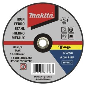 Disco de desbarbe 150 mm x 22.23 mm Makita P-52990