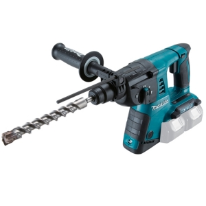 Martillo a batería Makita DHR263Z 26mm 18V x 2 Litio-ion 0 - 1.250 rpm