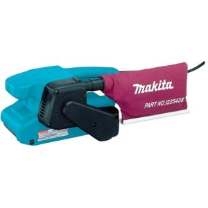 Lijadora de banda Makita 9911 650 W velocidad variable 75-270 m. min.
