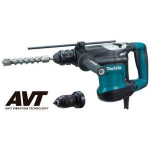 Martillo combinado Makita HR3210FCT 850 W 32 mm SDS-PLUS 3 modos y AVT