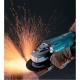 Amoladora Makita de 180 mm 2200 W GA7020R rebarbando