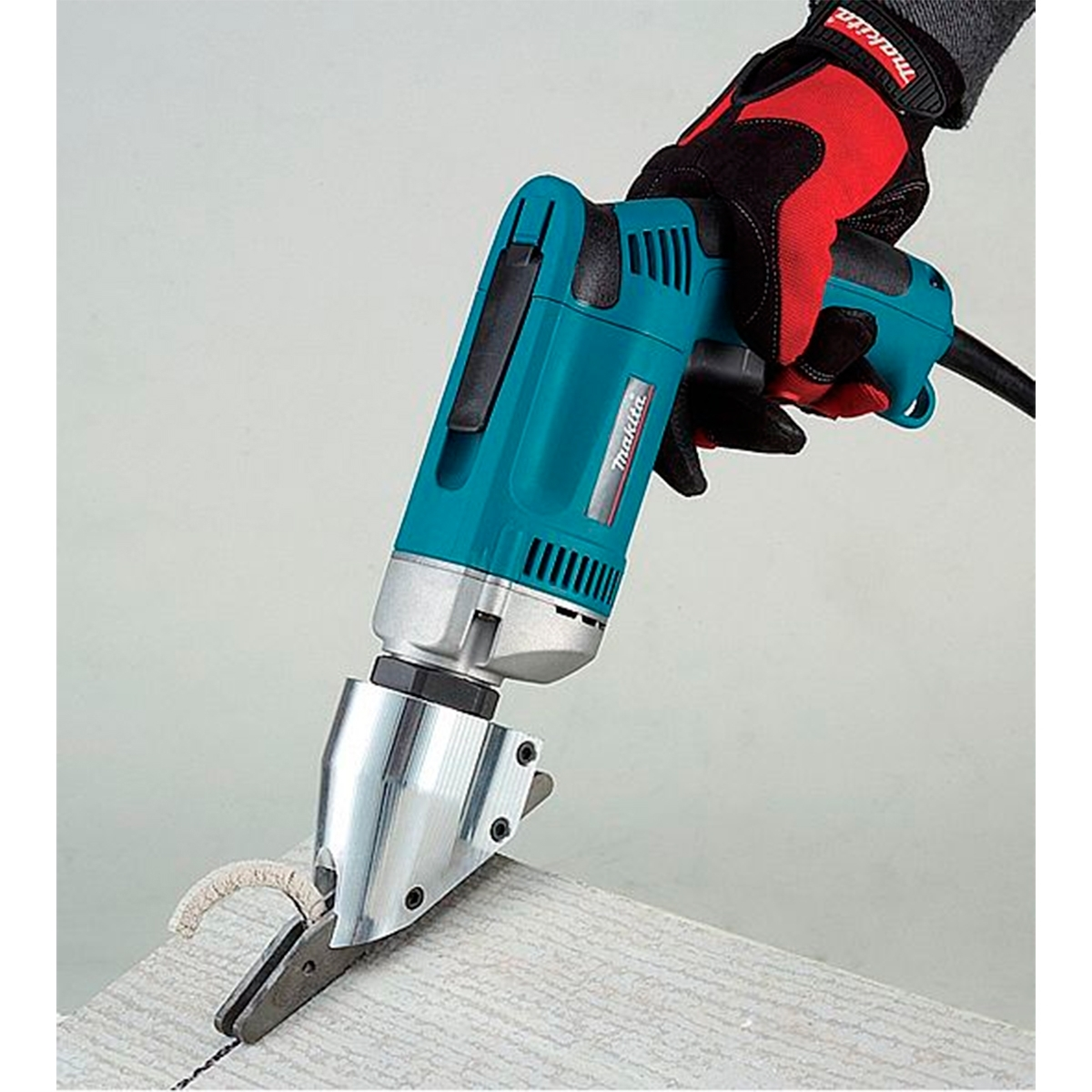 Makita js8000 cizalla 570 w para cortar fibrocemento - Cortar pizarra en casa ...