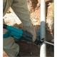 Sierra de sable Makita JR3050T 1.010 W serrando tuberia