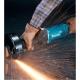 Amoladora Makita recta 150 mm 750 W GS6000 rectificando