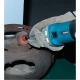 Amoladora Makita recta 6-8 mm 750 W GD0810C repasando