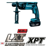 Martillo Makita DHR165RME a batería 18V Litio 4,0Ah SDS-PLUS